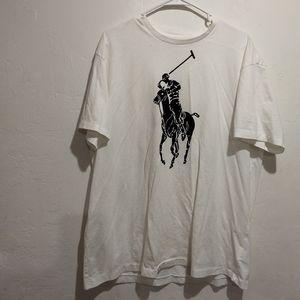 Polo white t shirt